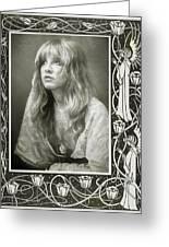 Stevie Nicks Fleetwood Mac Greeting Card