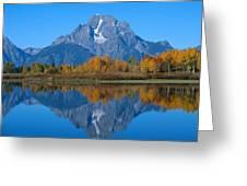 Teton Mountains Greeting Card