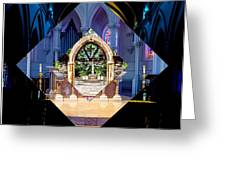 The Altar Greeting Card by William Norton