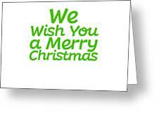 We Wish You A Merry Christmas Secret Santa Love Christmas Holiday Greeting Card