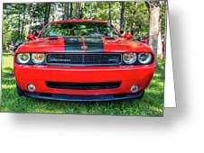 2008 Dodge Challenger 500 Greeting Card