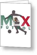 2018 Soccer Cup Mexico Flag Mex Championship Iso Greeting Card