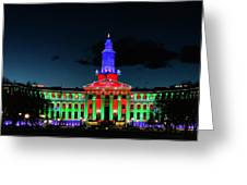 2019 Civic Center Denver Greeting Card