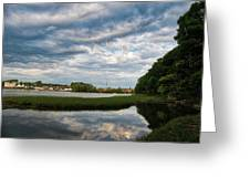 The Bass River Greeting Card
