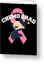 Breast Cancer Awareness Art For Warrior Women Dark Greeting Card