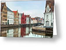 Brugge - Belgium Greeting Card