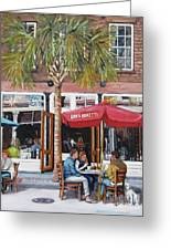2nd Sunday Lunch On King St. Greeting Card