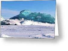 Arctic Ice Greeting Card