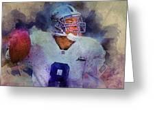 Dallas Cowboys.troy Kenneth Aikman Greeting Card