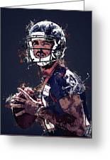 Denver Broncos.case Keenum. Greeting Card