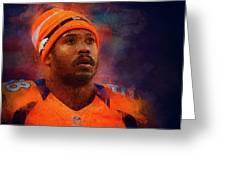 Denver Broncos.von Miller. Greeting Card