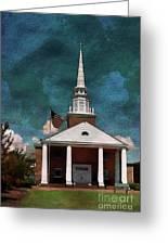 First Baptist Church North Myrtle Beach S C Greeting Card