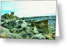 High Desert Landscape Greeting Card