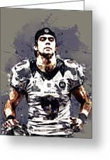 Justin Tucker.baltimore Ravens Greeting Card