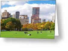 New York City Manhattan Skyline Greeting Card