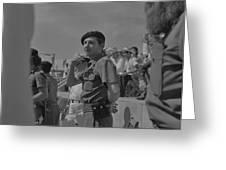Raul Castro  Greeting Card