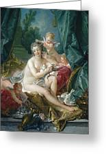 The Toilette Of Venus  Greeting Card