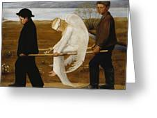 The Wounded Angel Greeting Card