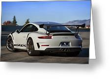 #porsche 911 #gt3rs #print Greeting Card by ItzKirb Photography