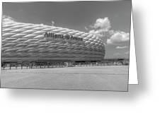 Allianz Arena Munich  Greeting Card