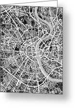Cologne Germany City Map Greeting Card