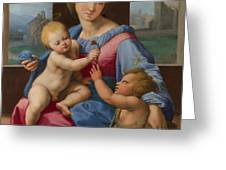 The Garvagh Madonna  Greeting Card