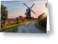 Wilton Windmill - England Greeting Card