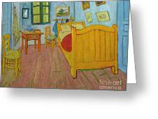 Bedroom In Arles Greeting Card