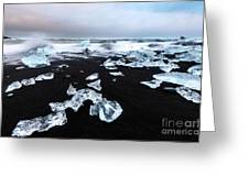 Diamond Beach Greeting Card