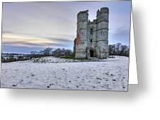 Donnington Castle - England Greeting Card
