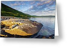 Loch Na Keal Greeting Card