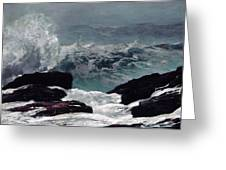 Maine Coast  Greeting Card