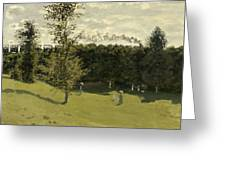 Train In The Countryside  Greeting Card