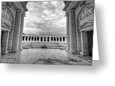 Arlington National Cemetery Memorial Amphitheater Greeting Card