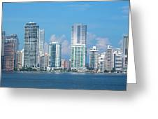 Colombia, Cartagena Greeting Card