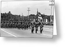Marchers Greeting Card