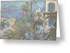 Villas At Bordighera  Greeting Card