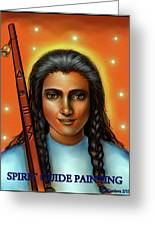 Spirit Guide Painting Collection Greeting Card