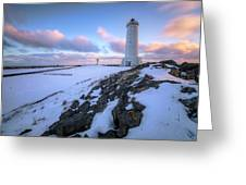 Akranes - Iceland Greeting Card