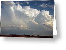 Prairie Storm Clouds Greeting Card