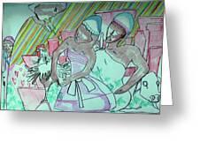 Kintu And Nambi Folktale Greeting Card