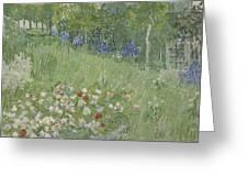 Daubignys Garden  Greeting Card