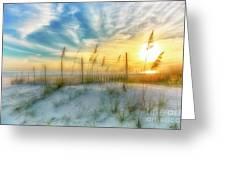 A Beach Dream Greeting Card by Ken Johnson