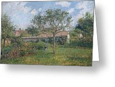 A Corner Of The Meadow At Eragny, 1902 Greeting Card