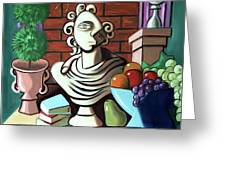 A Cubist Still Life Greeting Card by Anthony Falbo