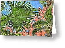 A Don Cesar Palm Frond Greeting Card