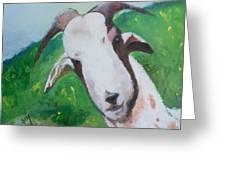 A Goat To Love Greeting Card