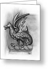 A Highclere Wyvern Greeting Card