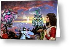 A Maiden Dreams Greeting Card