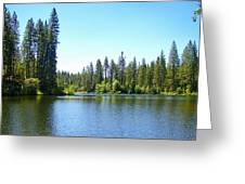 A Quiet Place - Bass Lake Greeting Card